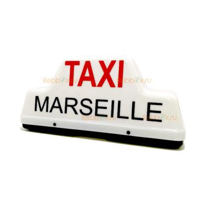 Шашка такси «Taxi Marseille»