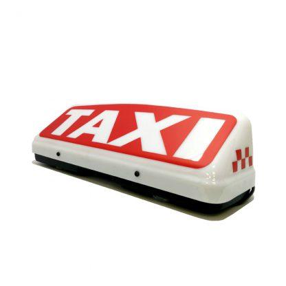 "Шашка такси ""Тройка Red"""