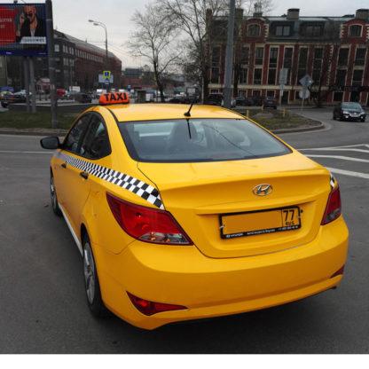 Шашка такси «Ретро»