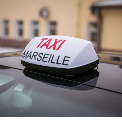 Шашка такси «Taxi Marseille v2»