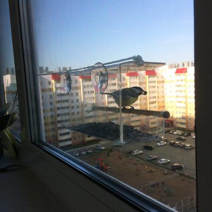 Кормушка для птиц на окно «КО-1»