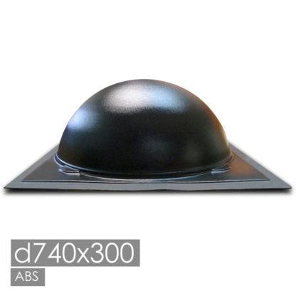 Форма для бетонных полусфер d740х300мм.