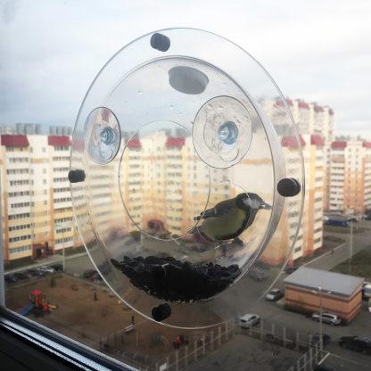 Кормушка для птиц на окно «КО-5»