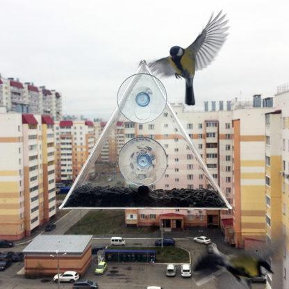 Кормушка для птиц на окно «КО-6»