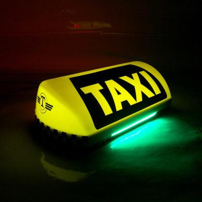 Шашка такси «Метрополь NEON»