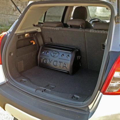 3D Сумка органайзер в багажник автомобиля «TOYOTA»